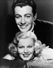 Robert Taylor and Jean Harlow in Personal Property.