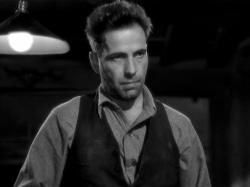 Humphrey Bogart in The Petrified Forest.