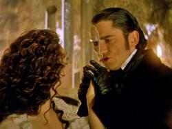 Emmy Rossum and Gerard Butler in The Phantom of the Opera.