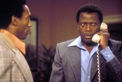 Bill Cosby and Sidney Poitier in A Piece of the Action.