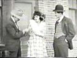 Bebe Daniels (with William Blaisdell and Sammy Brooks) in Pinched.