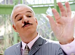 Steve Martin in The Pink Panther 2.