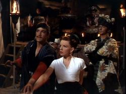 Gene Kelly and Judy Garland in The Pirate.