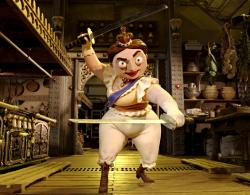 Imelda Staunton voices Queen Victoria in Pirates! Band of Misfits.