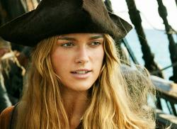 Keira Knightley in Pirates of the Caribbean: Dead Man's Chest.