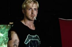 Ryan Gosling broods in The Place Beyond the Pines.