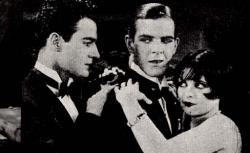 Gilbert Roland, Donald Keith and Clara Bow in The Plastic Age