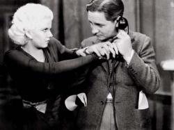 Robert Williams and Jean Harlow