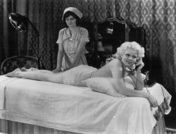 Jean Harlow in Platinum Blonde.