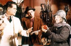 Glenn Ford, Peter Falk and Bette Davis in Pocketful of Miracles.
