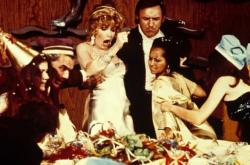 Ernest Borgnine, Stella Stevens and Gene Hackman in The Poseidon Adventure.