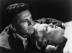 John Garfield and Lana Turner in The Postman Always Rings Twice.