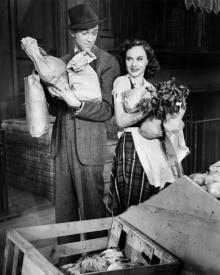 James Stewart and Paulette Goddard in Pot o' Gold
