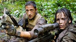 Adrien Brody and Alice Braga in Predators.
