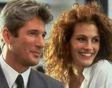 Gere and Roberts make a pretty couple.