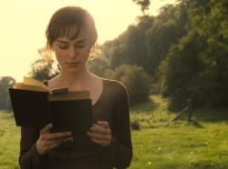 Keira Knightley in Pride and Prejudice.