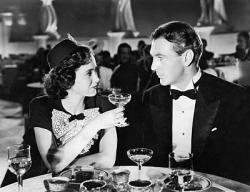 Teresa Wright and Gary Cooper in The Pride of the Yankees.