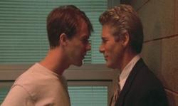 Edward Norton and Richard Gere in Primal Fear.