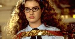 Anne Hathaway in The Princess Diaries.