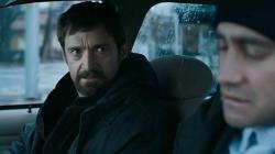 Hugh Jackman and Jake Gyllenhaal in Prisoners.
