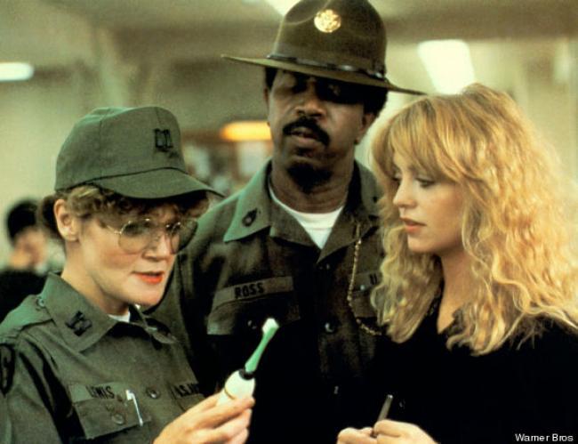 Eileen Brennan, Hal Williams and Goldie Hawn in Private Benjamin.