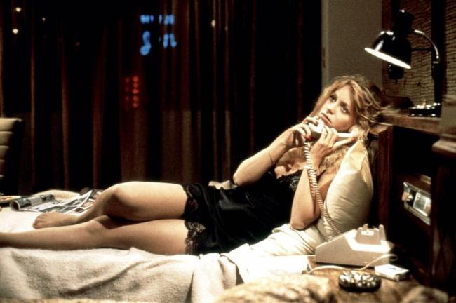 Goldie Hawn in Private Benjamin.