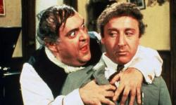 Zero Mostel and Gene Wilder in The Producers.
