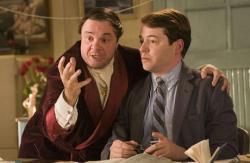 Nathan Lane and Matthew Broderick in The Producers: The Musical.