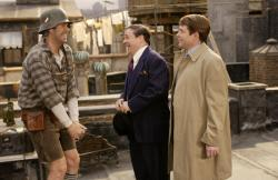 Will Ferrell, Nathan Lane and Matthew Broderick in The Producers.