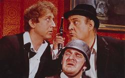 Gene Wilder, Zero Mostel and Kenneth Mars in The Producers.