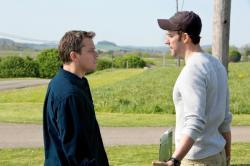 Matt Damon and John Krasinski in Promised Land