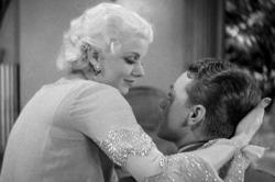 Jean Harlow and James Cagney in The Public Enemy.