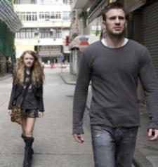 Dakota Fanning and Chris Evans in Push