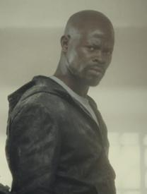 The always cool Djimon Hounsou.