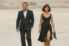 Daniel Craig and Olga Kurylenko