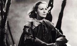 Greta Garbo in Queen Christina.