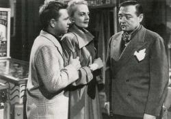 Mickey Rooney, Jeanne Cagney and Peter Lorre in Quicksand