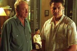 Michael Caine and Brendan Fraser in The Quiet American.