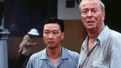 Tzi Ma and Michael Caine in The Quiet American.