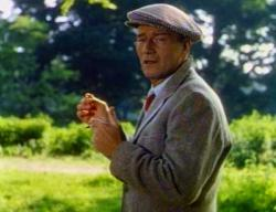John Wayne in The Quiet Man.