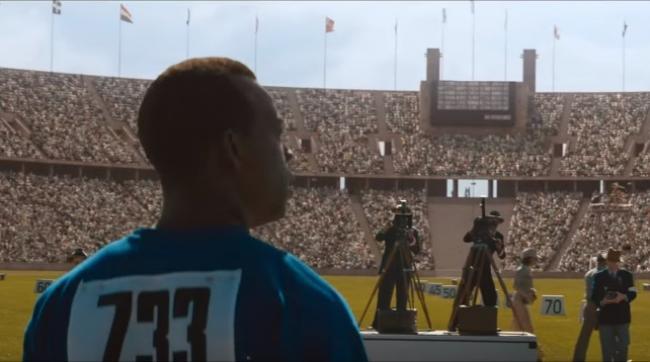 Stephan James as Jesse Owens in Race