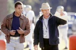 Cuba Gooding Jr. and Ed Harris in Radio.