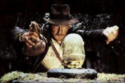 Harrison Ford in Raiders of the Lost Ark.