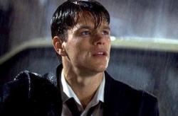 Matt Damon in Rainmaker.