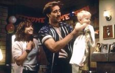 Nicolas Cage and Holly Hunter in Raising Arizona.
