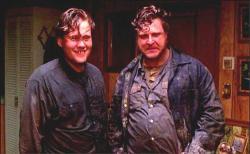 William Forsythe and John Goodman in Raising Arizona.