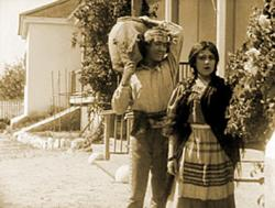 Henry B. Walthall and Mary Pickford in Ramona