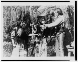 Mary Pickford, Kate Bruce and Henry B. Walthall in Ramona.