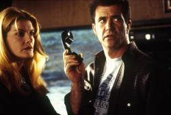 Rene Russo and Mel Gibson in Ransom.