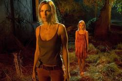 Hilary Swank and AnnaSophia Robb in The Reaping.